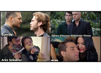 Geçen Haftanın (17 - 23 Ekim 2016) en çok izlenen dizileri!