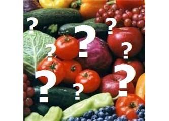 Meyve ve Sebze arasındaki fark nedir?