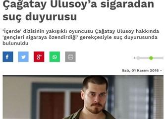 """Bu zorunlu bir """"yakışıklı oyuncu Çağatay Ulusoy"""" yazısıdır"""