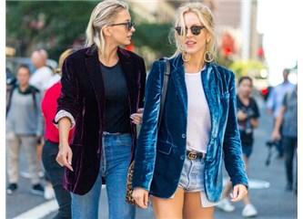 2017 Kış Sokak Modasının En Sıcak Trendi: Kadife