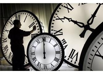 Saatleri ileri mi alıyorduk? Yaşamımı boşa sarıyorduk?