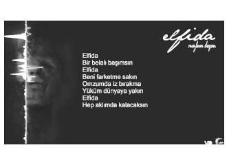 Omzumda iz bırakma yüküm dünyaya yakın; Elfida...