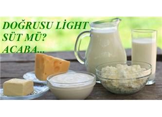 Süt ve süt ürünlerini yarım yağlı mı tercih edelim acaba?