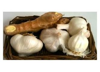Zencefil-Sarımsak karışımının mucizevi faydaları…