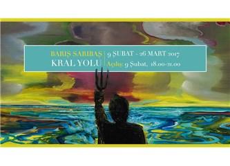"""Barış Sarıbaş'ın """"Kral Yolu"""" başlıklı sergisi Piramid Sanat'ta devam ediyor"""