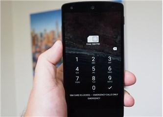 Android SIM Kilit Şifresi nasıl koyulur ?