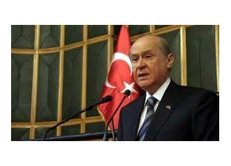MHP Genel Başkanı Devlet Bahçeli'ye bakış