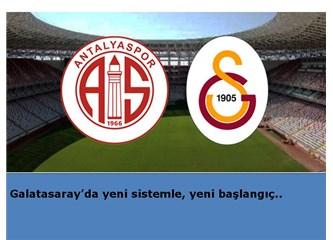 Galatasaray'da yeni sistemle, yeni başlangıç..