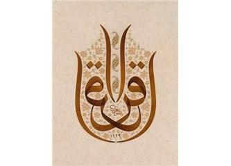 Kur'an-ı Kerim'den mesaj var – 4