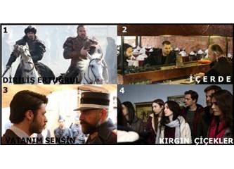 Geçen Haftanın (06 - 12 Mart 2017) en çok izlenen dizileri!