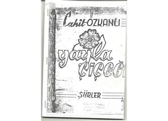 Fethiye'de ilk yayınlanan şiir kitabı: Yayla Çiçeği