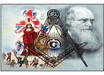 Darwin'in evrim teorisi ateist mason locasında alınan bir kararla ortaya atıldı!