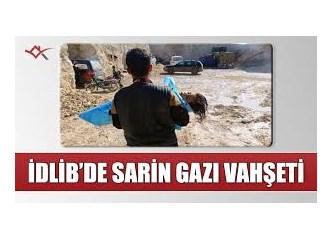 Suriye'de Sinir (Sarin) gazı dehşeti!