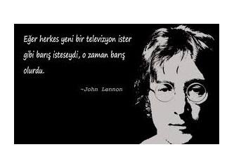 Savaş, Lennon ve Suriye'de ölen Çocuklar.