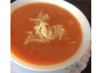 Sıcacık domates çorbası tarifi
