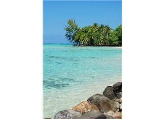 Yeryüzündeki cennet; Tahiti!