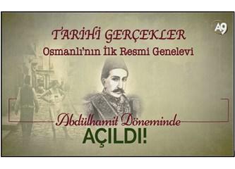 Osmanlı'nın ilk resmi genelevi Abdülhamit döneminde açıldı!