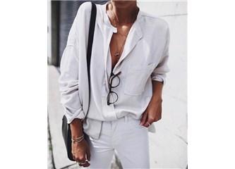 Baharın en sevileni: Beyaz pantolonlar