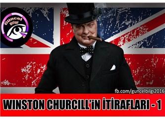 Winston Churchill'in İtirafları!