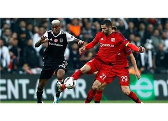 Beşiktaş Lyon'u elinden kaçırdı