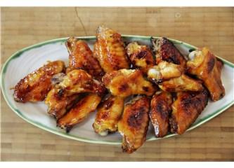 Pratik Tavuk Kanadı yemeği