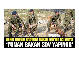 Kılıçdaroğlu'nu karşılayan Manga mı, Yunan Savunma Bakanının yaktığı mangal mı?