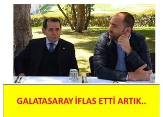 Galatasaray iflas etti artık..