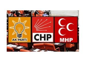 CHP, MHP ve AKP  birbirlerinden  ne kadar  farklıdırlar?