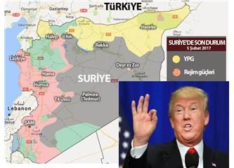 Trump, Suriye'de düğmeye bastı..
