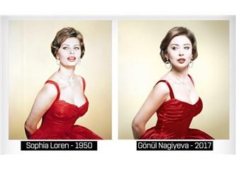 Güzel oyuncu Gönül Nagiyeva Efsaneleri Canlandırdı