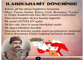 """""""Abdülhamit döneminde hiç toprak kaybedilmedi"""" iddiası çok büyük bir aldatmacadır!"""