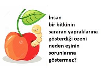 """Elmanın içindeki kurt : Ne Feminizm eşitlik arayışı ne de sevgi """"aşk-meşk"""" tir. (4)"""