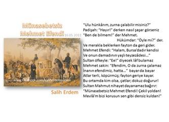 Münasebetsiz Mehmet Efendi