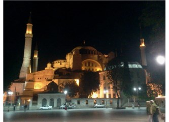 Ayasofya ve minareleri