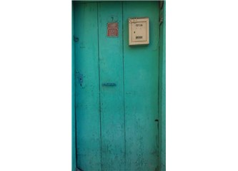 Yeşil bir kapı