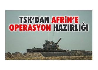Türkiye, AFRİN'e müdahale etmeli midir?