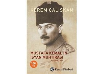 Mustafa Kemal'in İsyan Muhtırası