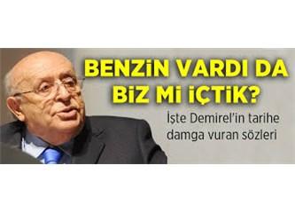 Siyaset profesörü(!) Süleyman Demirel