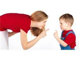 Çocuklarla Bağırarak Konuşmak
