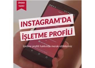 Instagram'da İşletme Profili