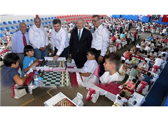 3'üncü Burdur Gölü Uluslararası Satranç Turnuvası Başladı