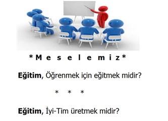 """Osmanlı'da Reform: """"Eğitim"""", İdeoloji-İdeoloğun Emrindeyse, Uysal Bir """"İyi-Tim"""" Olur (13)"""