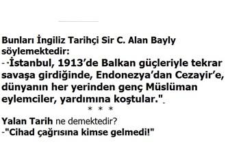 Yazılanlardan Anlaşılan Cumhuriyetin Sahiplendiği Her Yenilik Osmanlı Eseri, Bu durumda (14/Son)