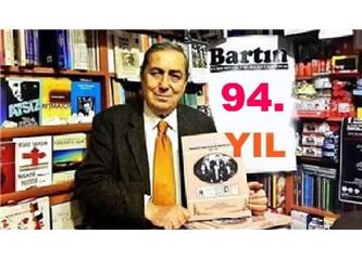 """""""94 Yaşına"""" Giren Bartın, Türkiye'nin 3ncü Büyük Yerel Gazetesi"""