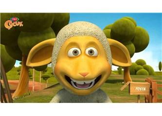 Çocuklar İçin Hazırlanan Çizgi Filmler Çocukları Korkutuyor; Canavar Gözlü Koyun Olur mu?