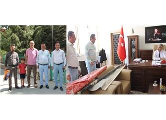 Milletvekili Göker, Milli Eğitim Müdürü Bayram'ın Makam Odasını Bastı