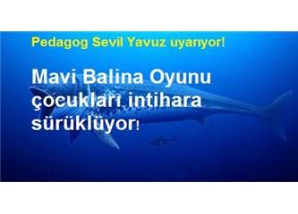 Mavi Balina Ölüm Oyununa Dikkat! Çocuklarınız Evlerinde Güvende Değil!
