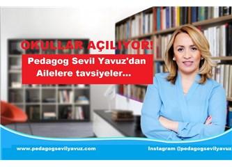 Okullar açılıyor! Pedagog Sevil Yavuz'dan Ailelere Tavsiyeler