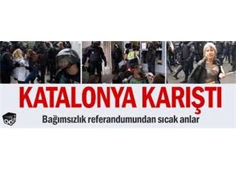 Irak'ın Yapamadığını İspanya Yaptı: Dayak Zoruyla Referandum İptali!