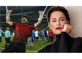 Ampute Milli Takımı Oyuncusu Barış Telli ve Hülya Avşar